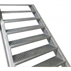 Zelfbouwpakket 1400mm - 5 traptreden